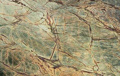 Marble Rainforest Green